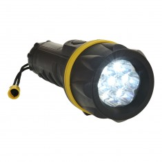 Portwest PA60 7 L.E.D Rubber Torch