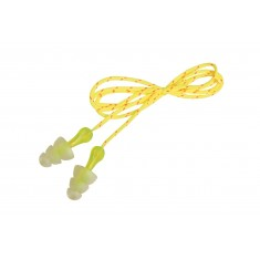 3M PELTOR Tri-Flange PN-01-006 Corded Reusable Ear Plugs