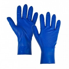 Supertouch 12711-4 PG-900 Fish Scale Nitrile Disposable Gloves (Box of 1000)