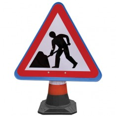 JSP HCA010-301-100 PortaCone  Roadworks Sign (Pack of 5)