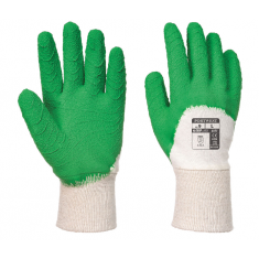 Portwest A171 Latex Open Back Crinkle Glove Size Medium