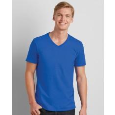 Gildan 64V00/GD010 Men's Soft Style V-Neck T-Shirt