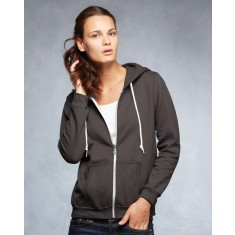 Anvil A521F Women's Full Zip Hooded Sweatshirt