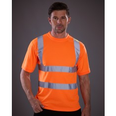 Yoko HVJ410  Two Band & Brace High Visibility T-Shirt