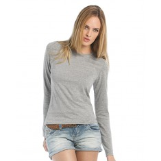 B & C  TW013 Women Only LSL T-Shirt