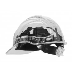 Portwest PV64 Peak View Plus Ratchet Hard Hat - Translucent