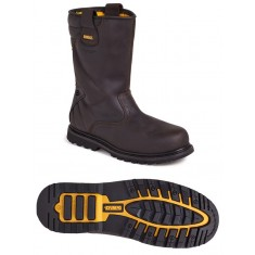 DeWalt Rigger Chocolate SBP SRA Safety Boot