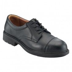 PSF S208NMP Black Leather Composite Executive SRC Safety Shoe