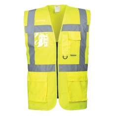 Portwest S476  Executive High Visibility Waistcoat
