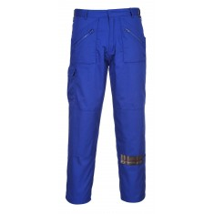 Portwest S887 Action Trousers - Royal Blue - Size 38""