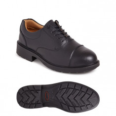 Sterling City Knights SS501CM Black Oxford S1P SRC Executive Safety Shoe