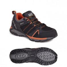 Sterling Industrial Footwear SS607SM SBP SRA Black/Orange Sports Safety Trainer
