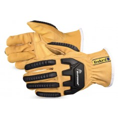 Endura® SU378GKGVB Oilbloc Goatskin Kevlar®-Lined Anti-Impact Driver Glove