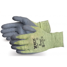 Superiorglove SUS13CXLX Emerald CX Kevlar Wire Core Latex Palm Cut Resistant Level 5 Glove Size XL