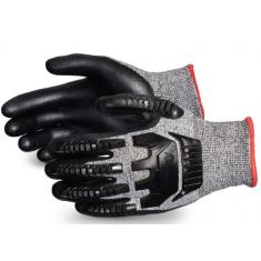 Superiorglove STAFGFNVB Tenactiv Nitrile Glove Size Large