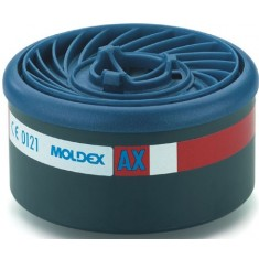 Moldex 9600 AX Single use Filter EasyLock Specialised Filter Cartridges (Pack of 4)
