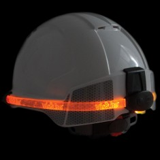 JSP VisiLite™ EVOLite™ AHV860-000-800 Safety Helmet Light (Pack of 10)