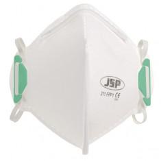 JSP BEA110-101-000 Fold Flat FFP1 - 211 Disposable Vertical Mask (Pack of 20)