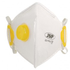 JSP BEB120-101-A00 Fold Flat  Vertical FFP2 - 222 Valved Disposable Masks (Pack of 100)