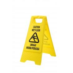 Portwest HV21 Euro Wet Floor Warning Sign