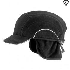 JSP ABW000-001-100 Winter HardCap A1+ with Short Peak (5cm) & Neck Warmer (Pack of 20)