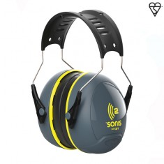 JSP Sonis™ 2 AEB020-0AY-900 Ear Defenders (Pack of 10)