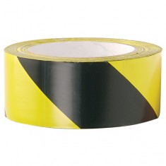 JSP HDH001-005 Zebra Tape 500 metre x 7cm (Pack of 20)